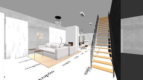 House living room - Living room - by DianaAndreea
