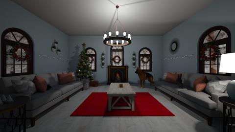 Rustic Christmas - Living room - by mcdcha22