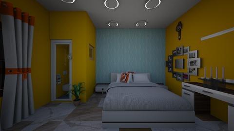 First floor Interior - Minimal - Living room - by sanjay verma