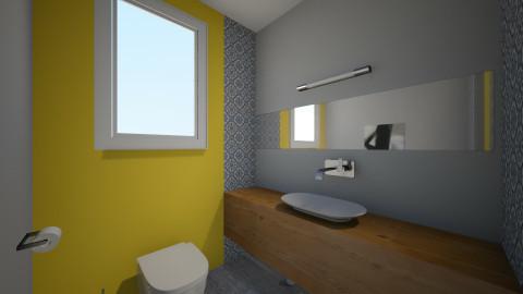 Grup sanitar v3 - Minimal - Bathroom - by horo