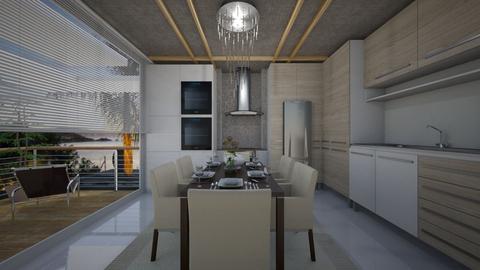 kitchen - by sara andrade