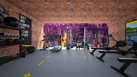fitness stuudio new york - Modern - by neelalml