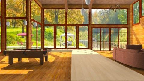 Woods - Modern - Living room - by wafa