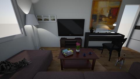 wik - Living room - by natasznix