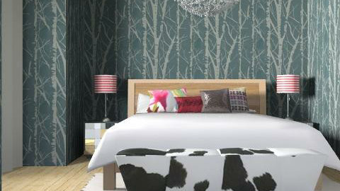 Julia (Dark) Bedroom - Glamour - Bedroom - by 3rdfloor