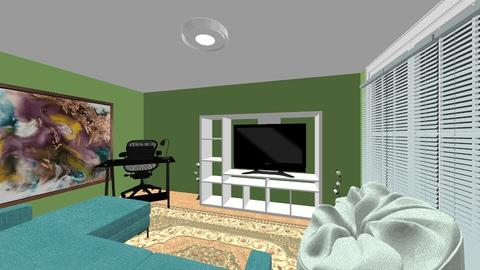 green room 1 - Living room - by Bokica982