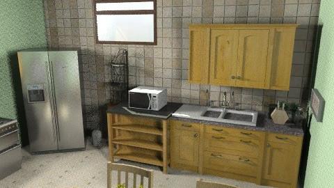 hkiiu - Kitchen - by repelikeva