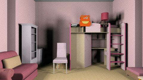 Pretty in Pink - Kids room - by ASKAbby