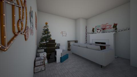 christmas - Classic - Living room - by derome