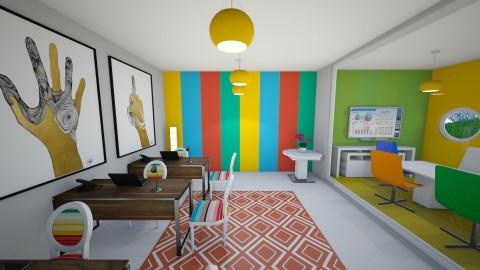 bright office - by beckygoatcher