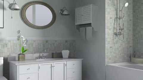 Family Home - Main Bathroom - Classic - Bathroom - by LizyD