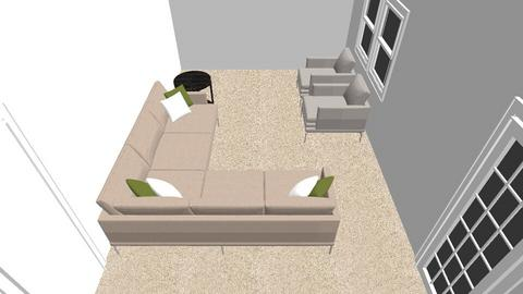 Two Couch - Living room - by pculter