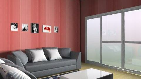 The America Room - Classic - Living room - by CattyEl