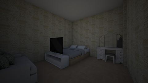 Carling bedroom - Modern - Bedroom - by cheetah20