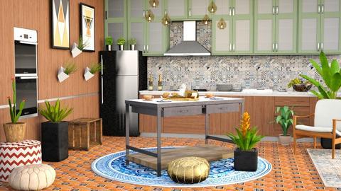 Boho Kitchen - Kitchen - by millerfam