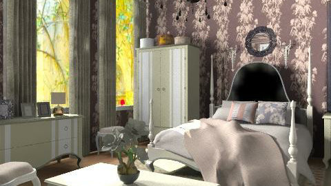 Hortense_2 - Glamour - Bedroom - by milyca8