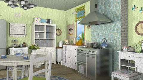 Kitchen - Rustic - Kitchen - by iwoolnough