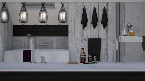 See Through - Modern - Bathroom - by XiraFizade