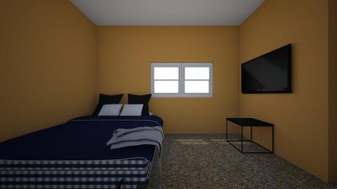 Bedroom Blueprint - Bedroom - by kkanne11