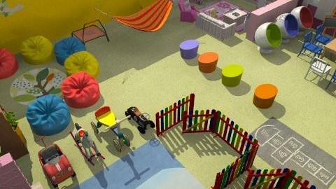 óvodai játszószoba - Classic - Kids room - by Audrey17