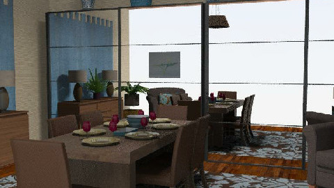 Dinner is Served - Dining Room - by tingo