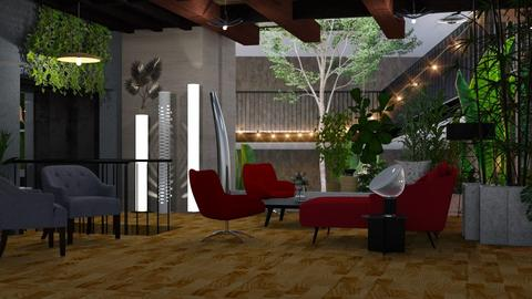 Urban Jungle Living - Modern - Living room - by Sue Bonstra