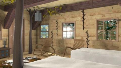 tree house - Rustic - Bedroom - by auntiehelen