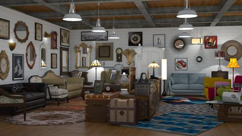 Vintage Furniture Shop - by GraceKathryn