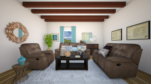 rustic - Rustic - Living room - by blingirl