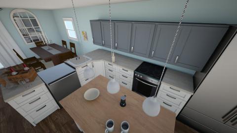 Kates Kitchen - Classic - Kitchen - by krchiolan