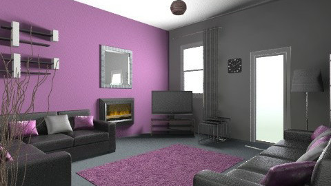 turquoise 2vgv - Modern - Living room - by irfanx