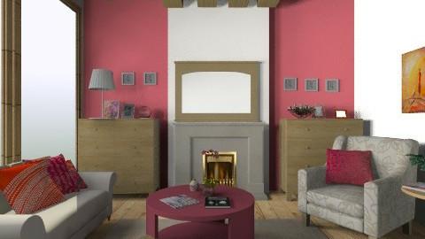 roustik - Living room - by gobin
