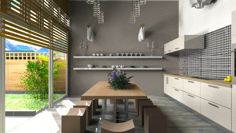 baroque_CWIN - Eclectic - Kitchen - by TV Renders