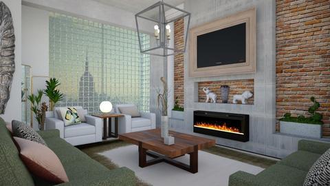 TV room  - Living room - by Tree Nut