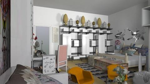Bedroom - Bedroom - by annasashan610