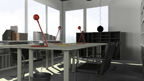 Resources Room3 - Minimal - Office - by Monna Lisa