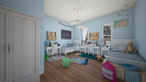 childs bedroom - Kids room - by Hannah Donovan