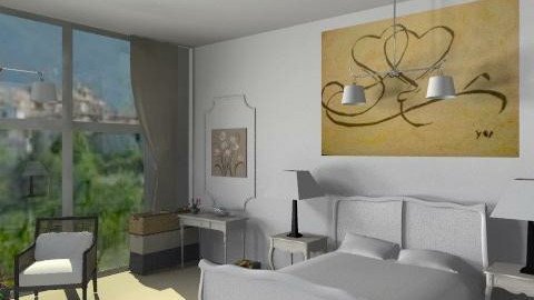 chambre en provence - Classic - Bedroom - by calu13