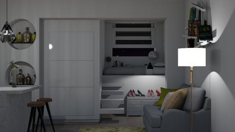 Loft_001 - Bedroom - by rebellure