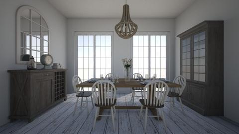 Farmhouse Dining - Dining room - by aviciedo