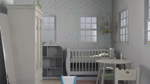 Spots - Eclectic - Kids room - by Cherryxxx