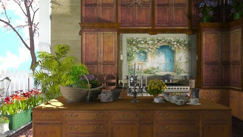 An old kitchen. - Rustic - Kitchen - by Your well wisher