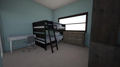 boys bedroom - Bedroom - by lilbitty55