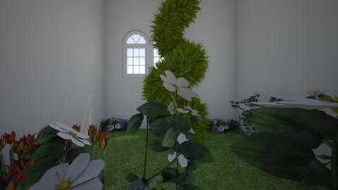 Gatehouse  - Garden - by Ajn1127