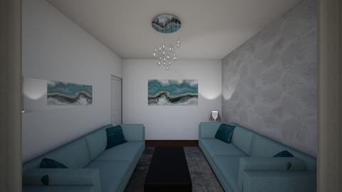 Levett Gardens A6 - Living room - by JLStratford