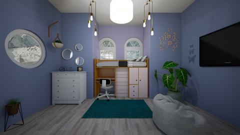 art project  - Bedroom - by Ilah Vogt1