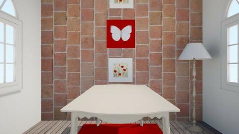 jadalnia - Dining room - by monikatikitika