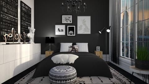 BW RELAX - Bedroom - by Liu Kovac