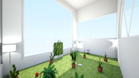 Kareem_Aaliyah_Greenhouse - Garden - by Silva_Forest