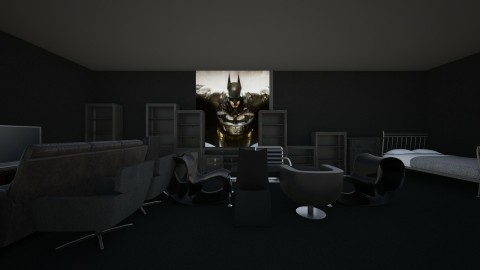 BLACK ROOM - Modern - by Yasir Ross